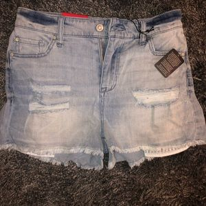 NWT celebrity pink jean shorts